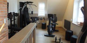 Fitnessstudio in der Backsteinkate